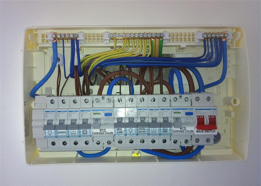 Wiring Diagram Dual Rcd Consumer Unit : Neil adams electrics feedback electrician in plympton