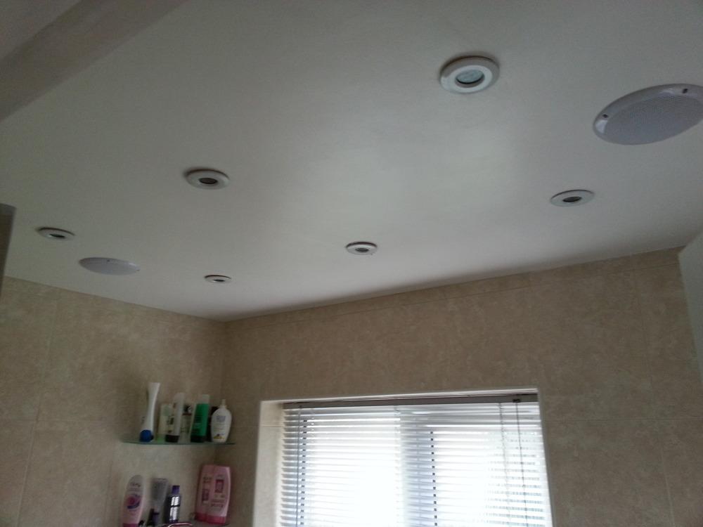 Bathroom Downlights Electrical Job In Brentwood Essex