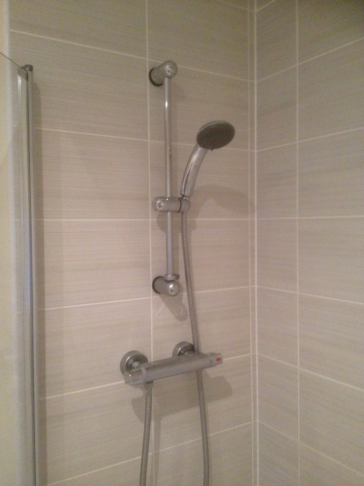 Fit Thermostatic Shower To Existing Bath Amp Tiling