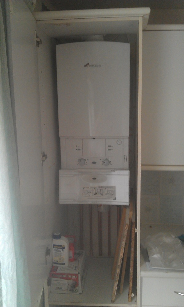 Asd heating 100 feedback heating engineer gas engineer for Kitchen boiler cupboard