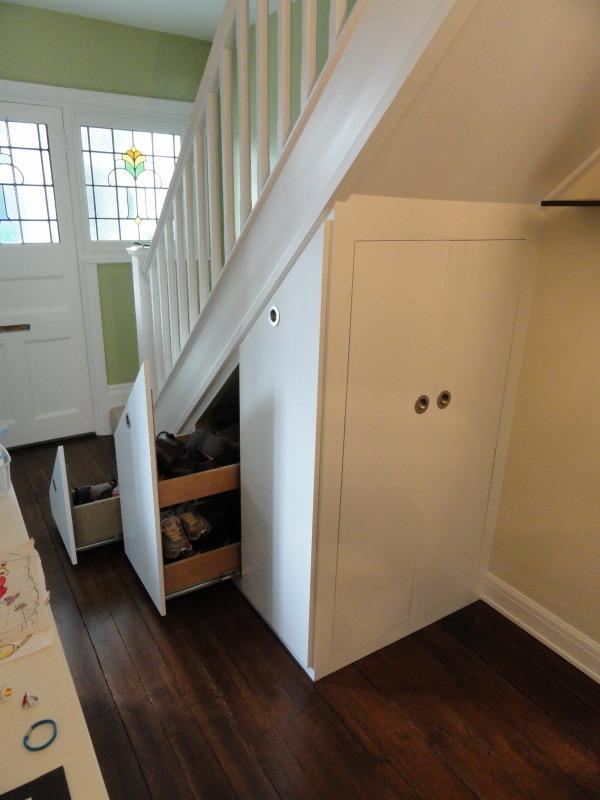 Under stairs cupboard cupboard with sliding door for Door under stairs