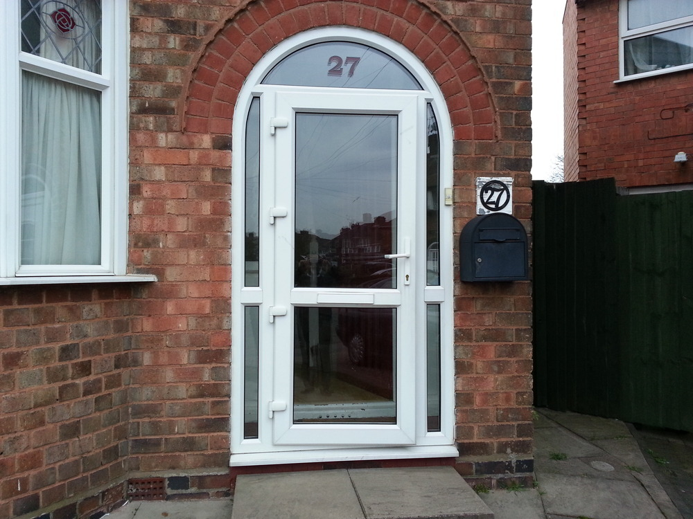 Front porch upvc door windows job in birmingham west for Porch windows and doors