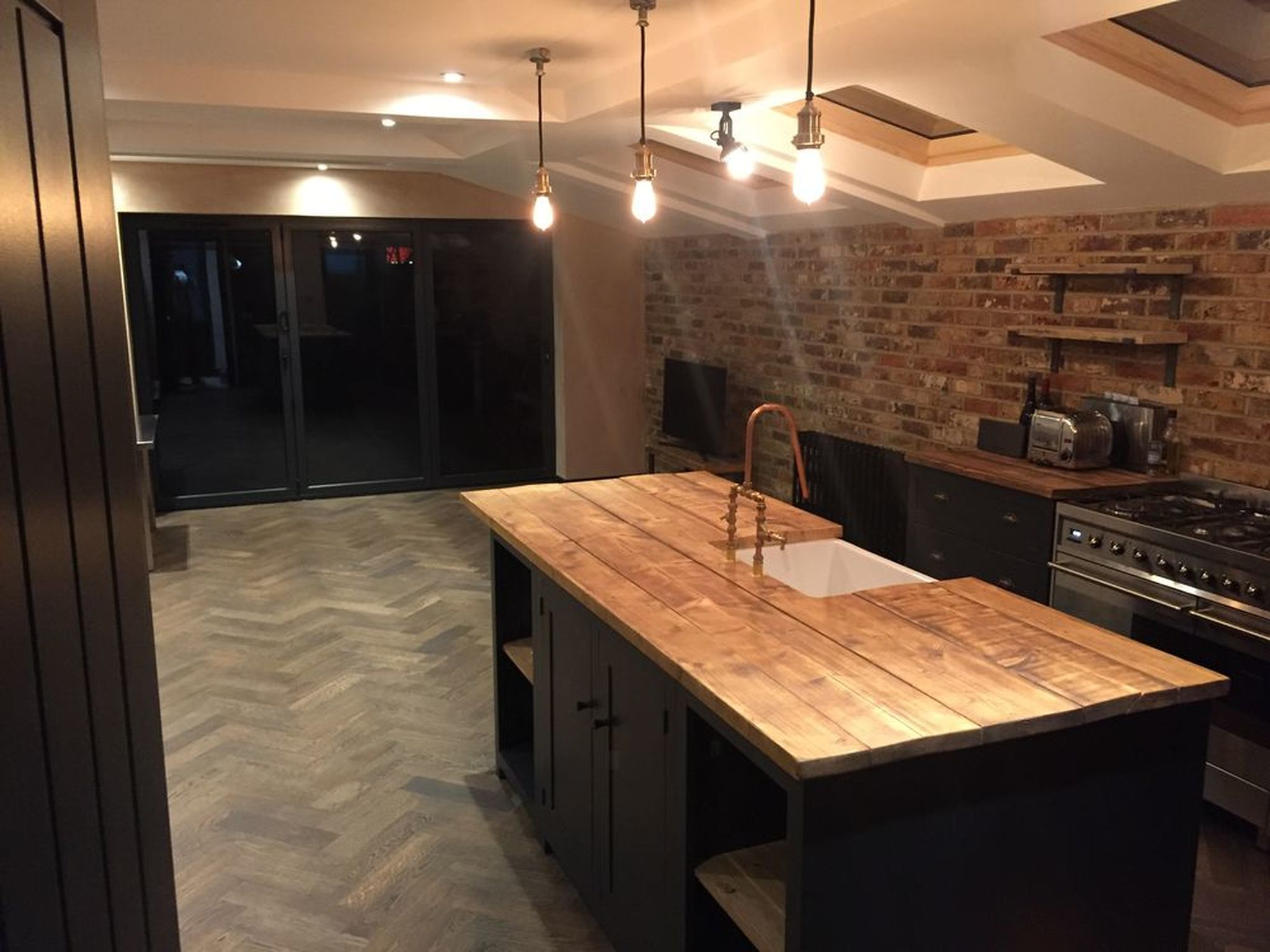 Laying Flooring In New Extension Job Of The Year 2018