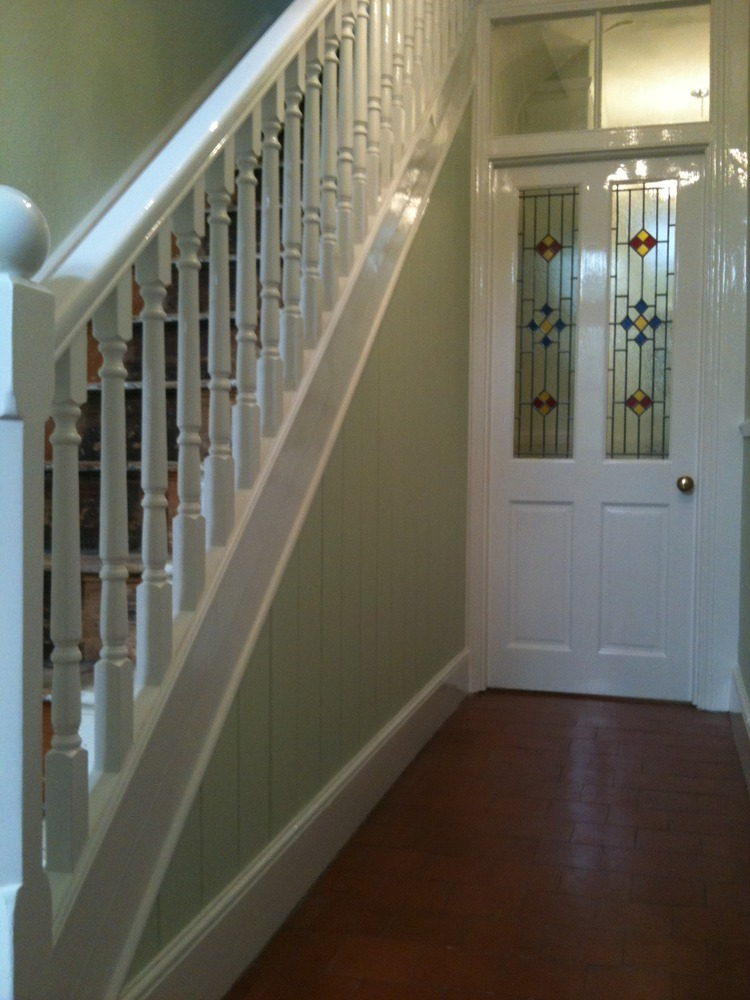 Mike pagett 100 feedback painter decorator in ashby - How to wallpaper stairs and landing ...