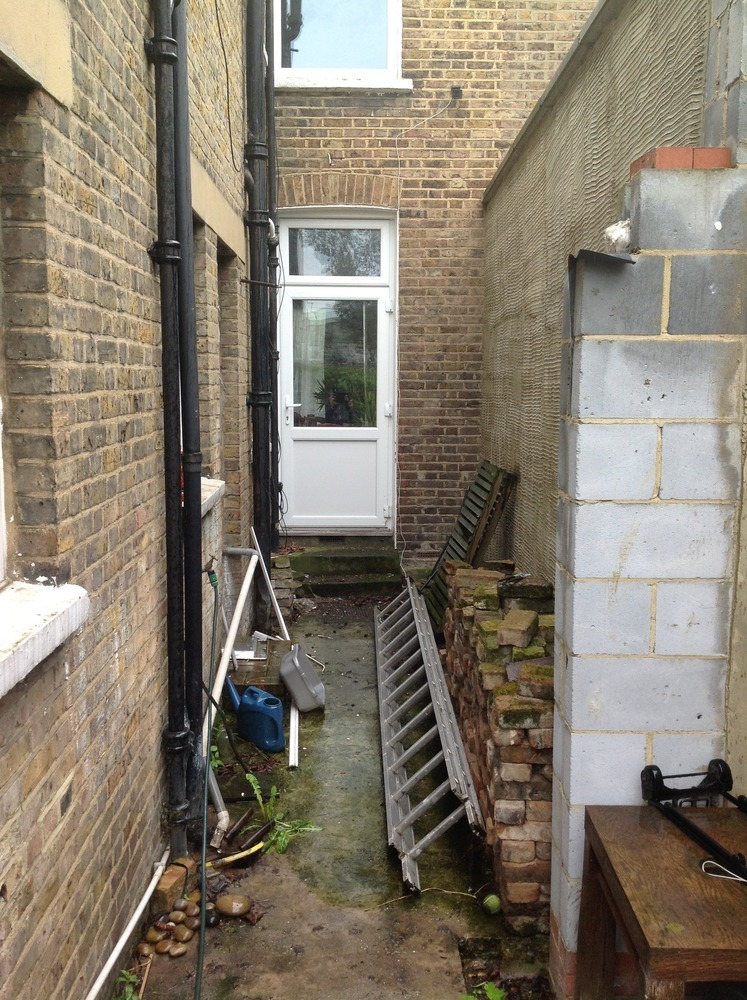 Side Return Wall Removal And Steel Insert Extensions Job