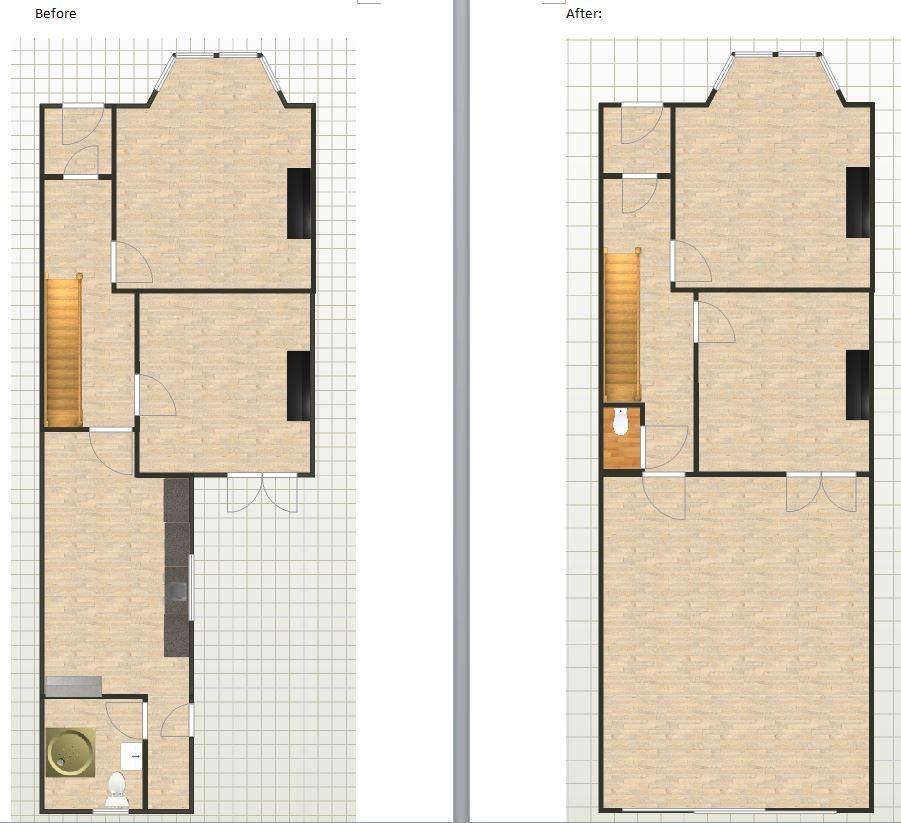 Side Return Kitchen Extension + General Refurbishment