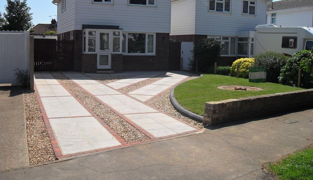 Container Garden Idea Book Entries Driveways Pathways: Front Garden