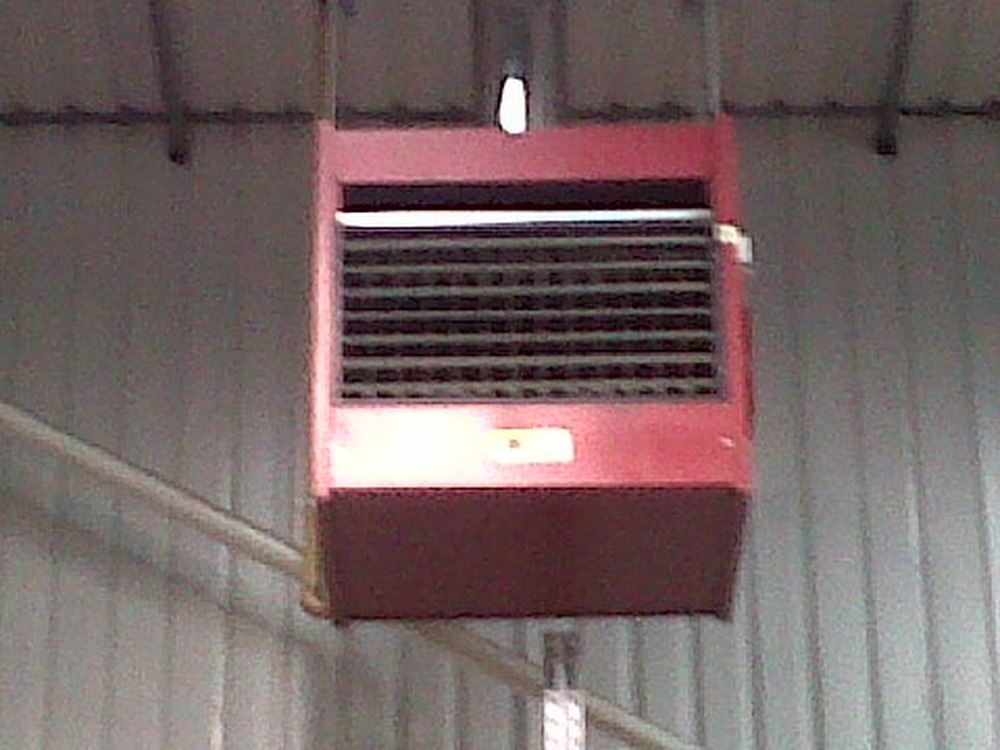 Servicing Of 2 Roberts Gordon Combat Cabinet Heaters Gas