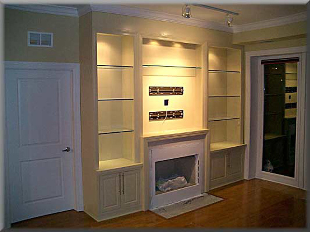 Integrated Shelving Around Fireplace Carpentry Amp Joinery