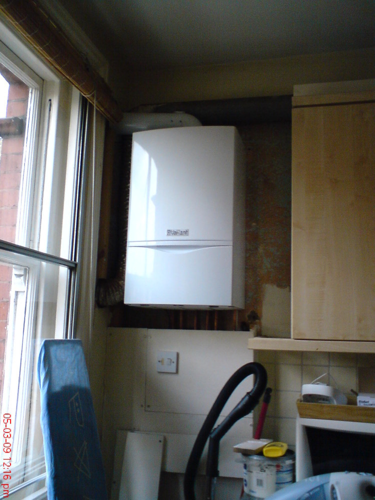 Boxing In Around Boiler Kitchen Fitting Job In Shadwell