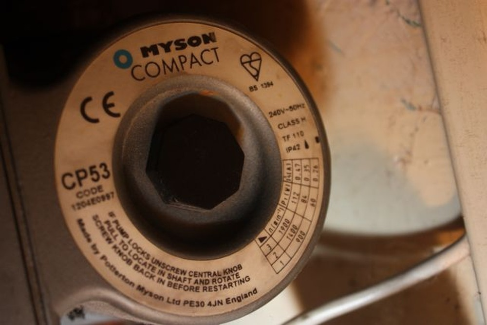 Heating Pump Myson Compact Cp53 Central Heating Pump