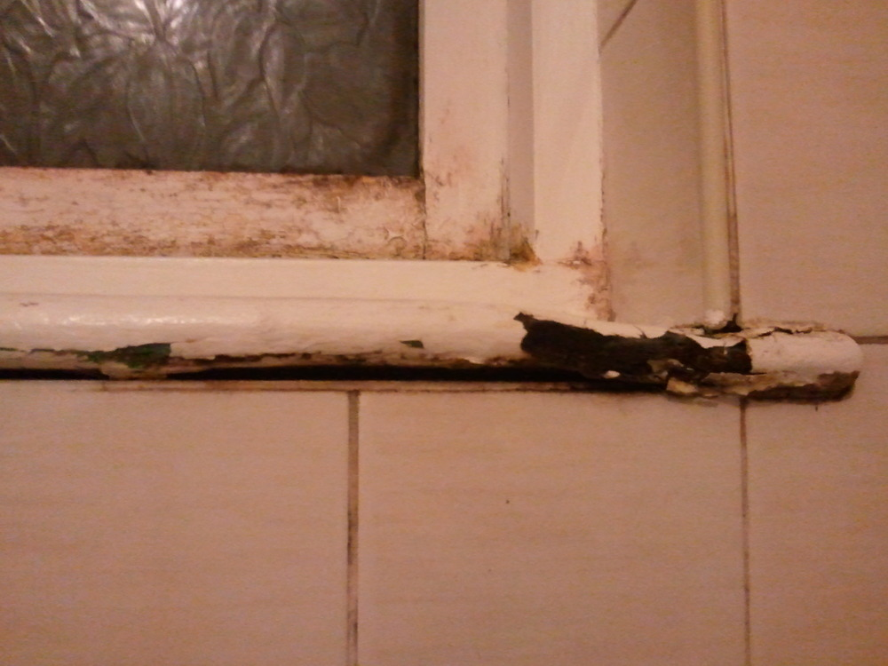 Interior window sill and frame needs replacing windows - Interior window sill replacement ...