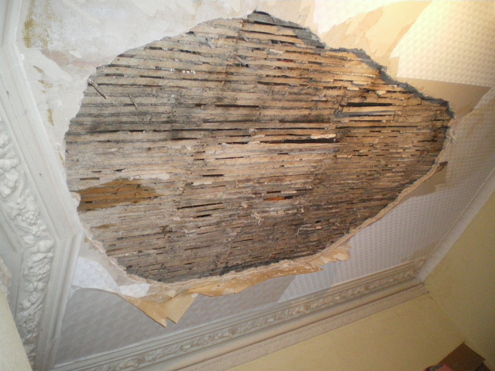 Plaster Repair Wood Lath Plaster Repair