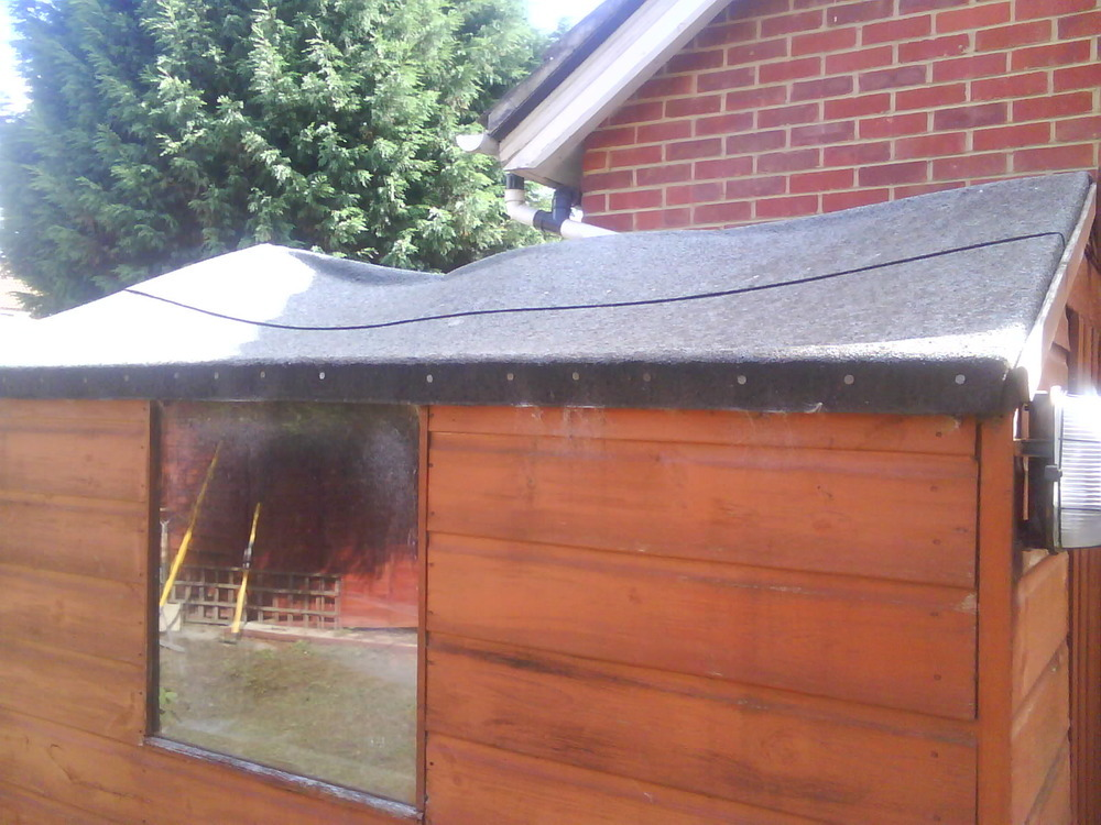 Replacing Shed Roof Garages Amp Sheds Job In Sittingbourne