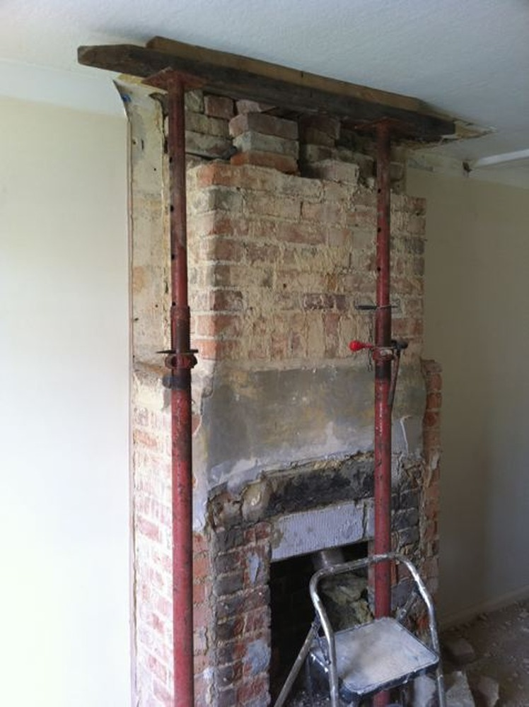 Chimney Removal Advice Ground Floor From Mid Terrace