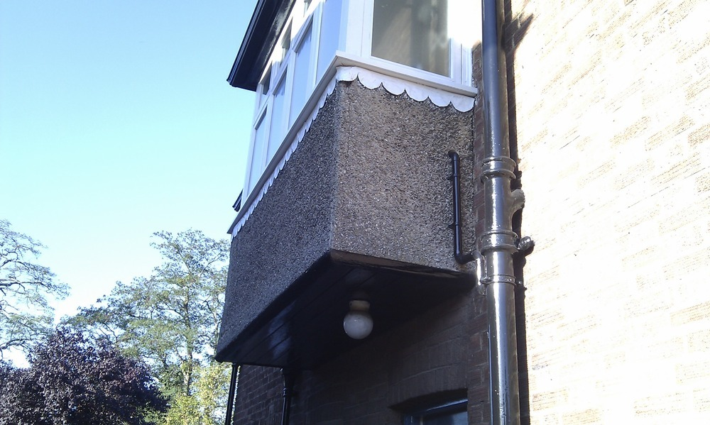 Insulate And Re Render A Bay Window Insulation Job In