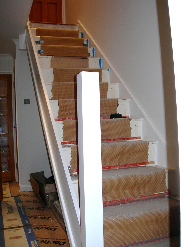 Fitting Stair Rails And Spindles Carpentry Amp Joinery Job