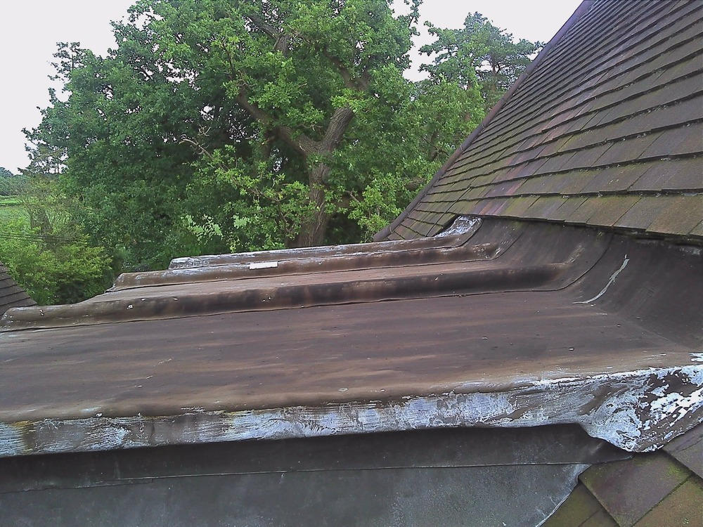 Replace Lead Dormer Roof Roofing Job In Cobham Surrey