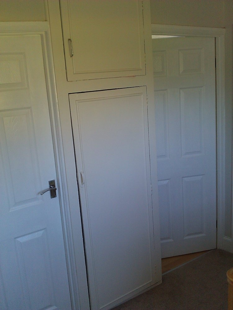 Conversion Of Airing Cupboard Carpentry Amp Joinery Job In