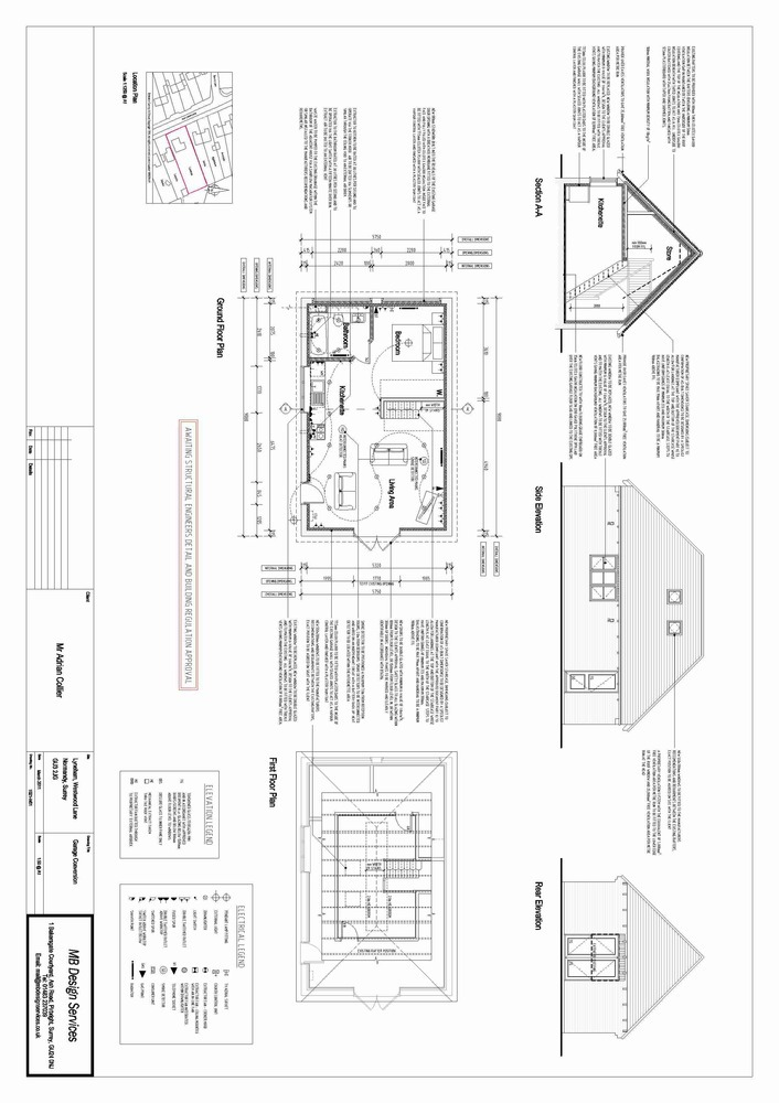 Garage Conversion 1 Bedroom Annexe Inc Loft Space