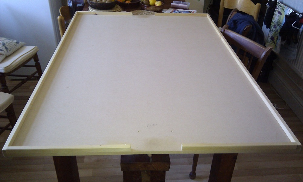 Make Subbuteo Table Top Board Carpentry Amp Joinery Job