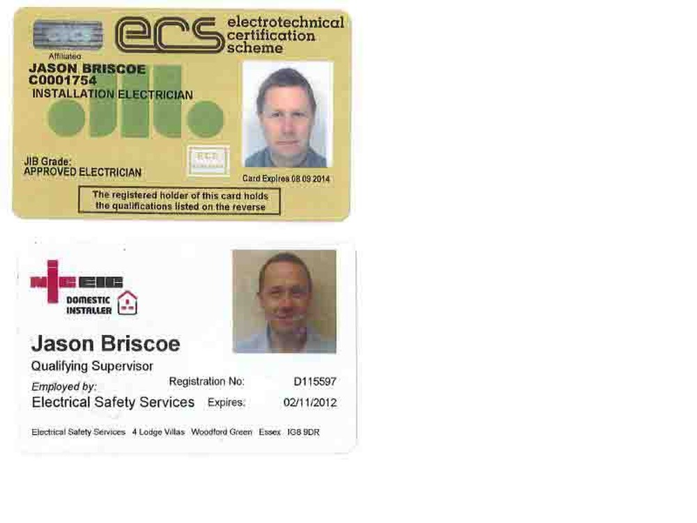 Cscs Gold Card >> Electrical Safety Services: 100% Feedback, Electrician in Woodford Green