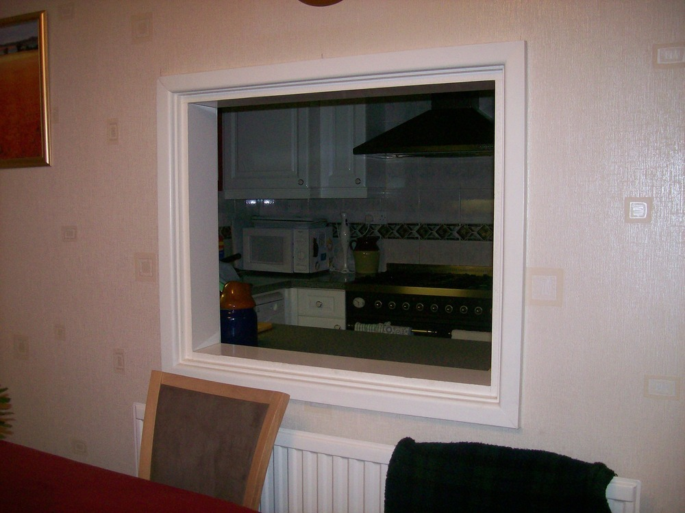 Fit Doors To A Kitchen Serving Hatch Carpentry Amp Joinery