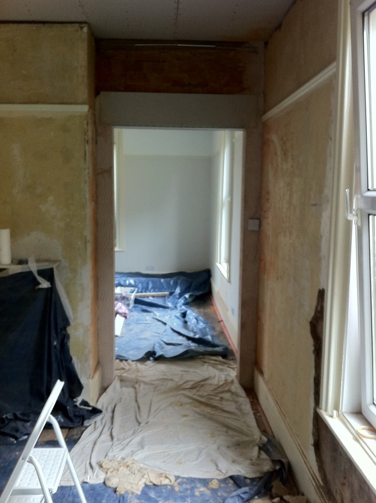 Victorian House 3 Rooms Replaster Ideally Lime Based