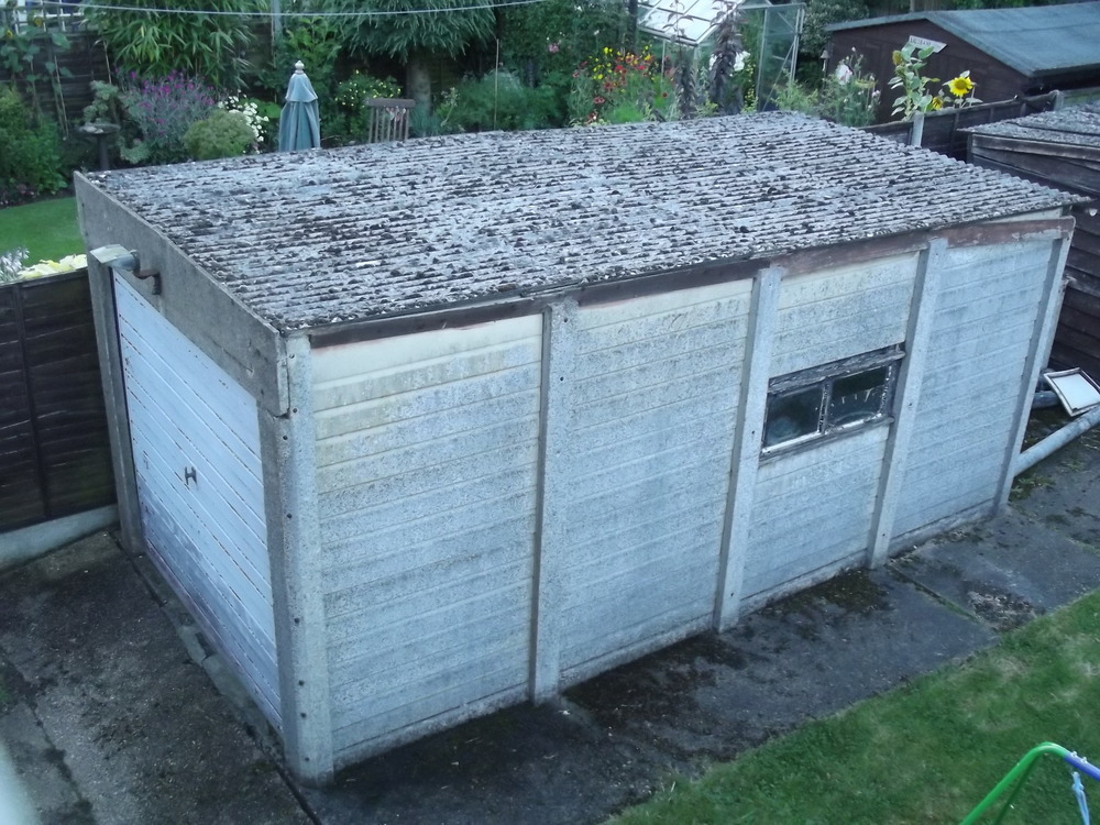 Removal Of Asbestos Corrugated Sheets On Garage Amp Shed