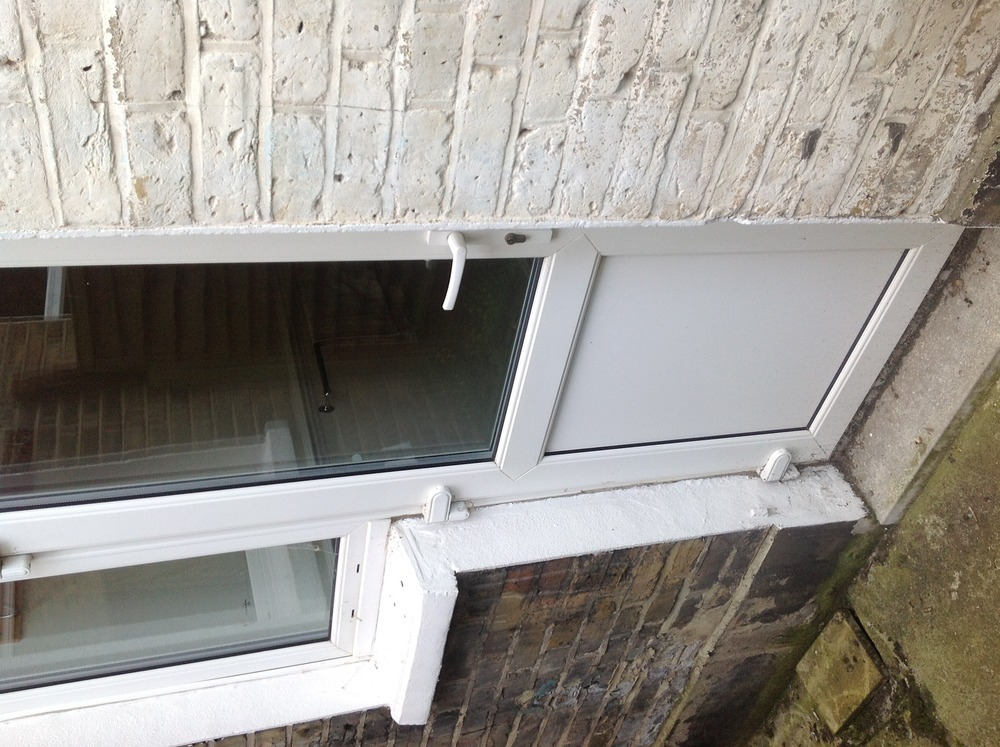 how to unlock a house window from the outside