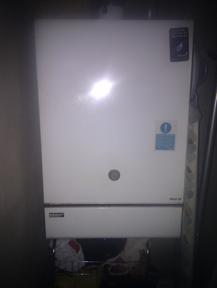 Pilot Light In Boiler Gone Out Central Heating Job In
